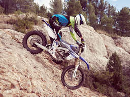 Yamaha WR 450 F (2016): High-Tech-Offroad-Bike