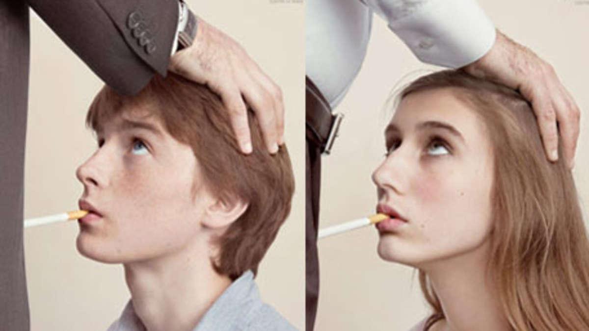 Kampagne vegleicht Rauchen mit unfreiwilligem Oralsex   WELT