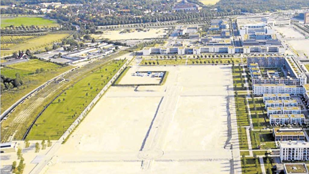 4 Bauabschnitt Der Messestadt München Ost