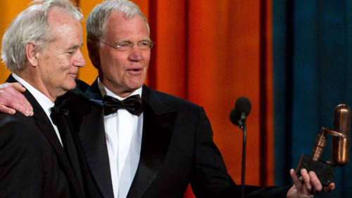 Comedy Awards für David Letterman und Tina Fey