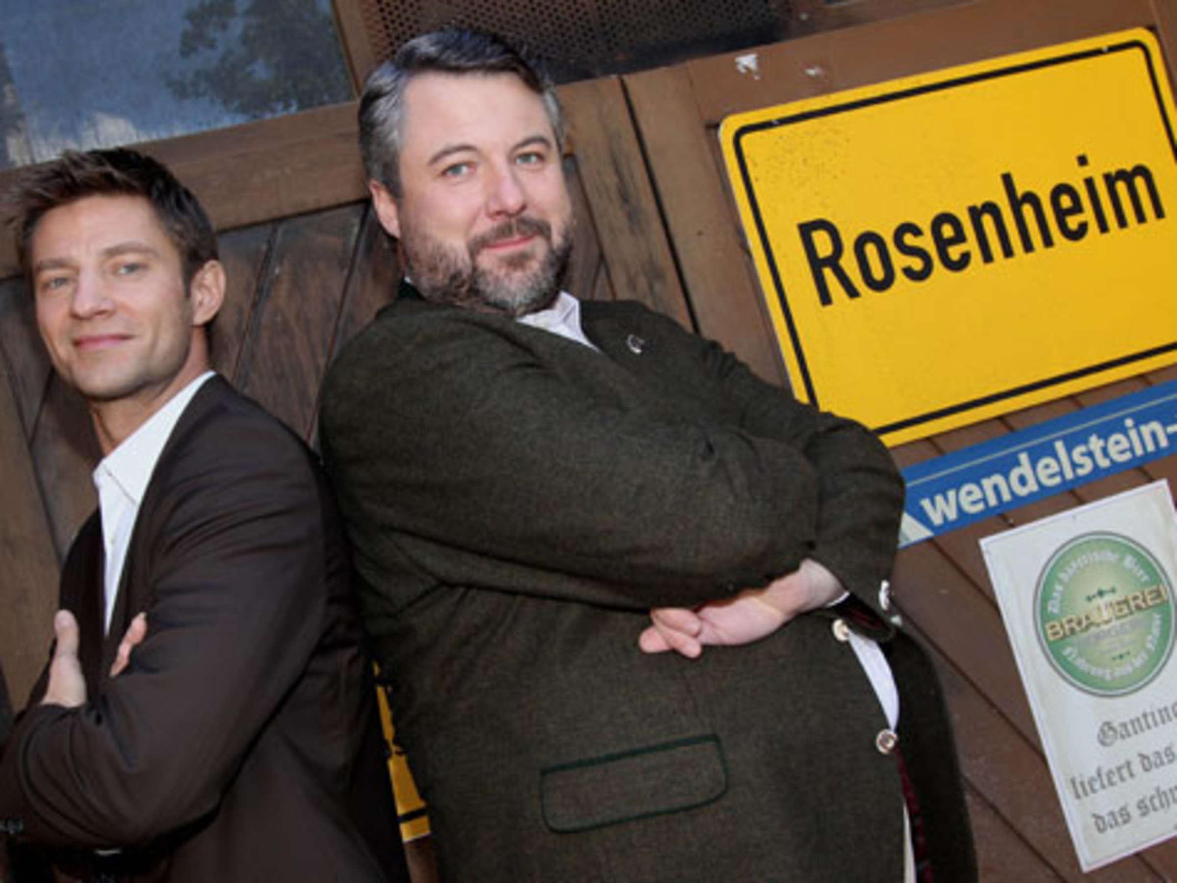Neuer Cop Fur Rosenheim Tz Doppelinterview Kino Tv