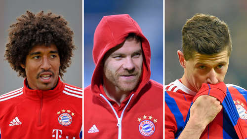 Dante, Alonso, Lewandowski: Peps trauriges Trio