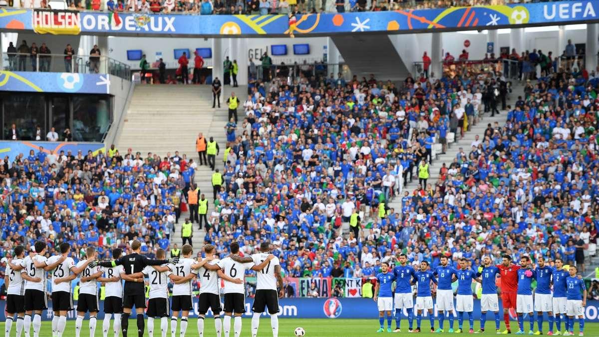 Deutschland Gegen Italien Spiel