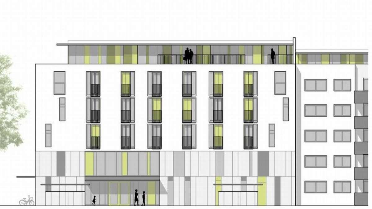 neues wohnheim f r kinder und studenten in schwabing mitte. Black Bedroom Furniture Sets. Home Design Ideas