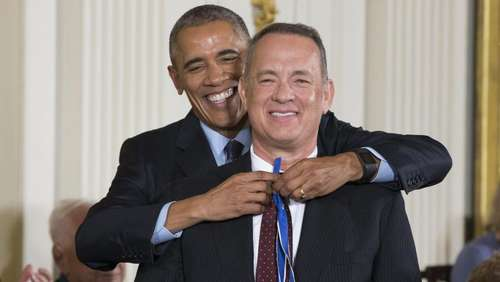 Obama ehrt Hanks, Redford und De Niro