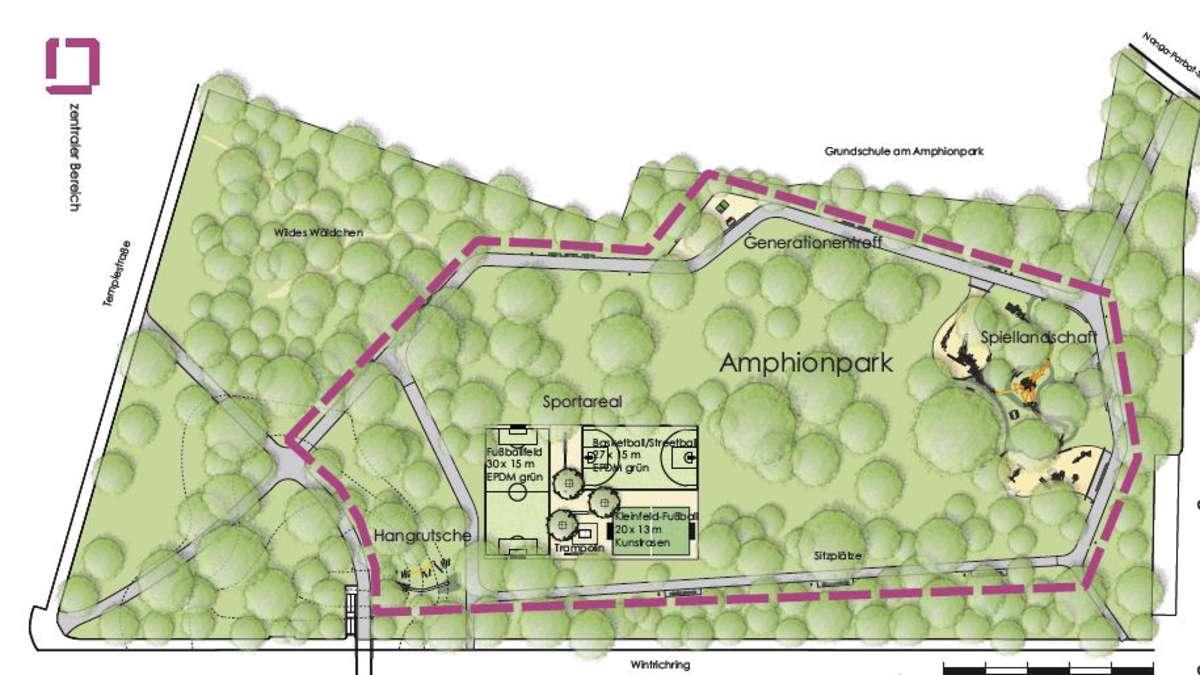 Amphionpark Sanierung In M Nchen Moosach Gestartet Moosach