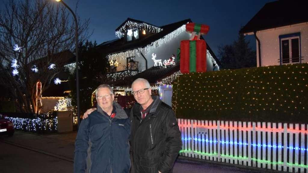 Weihnachtsbeleuchtung München.Adventlicher Wettstreit In Der Wildenburgstraße In Aubing München West