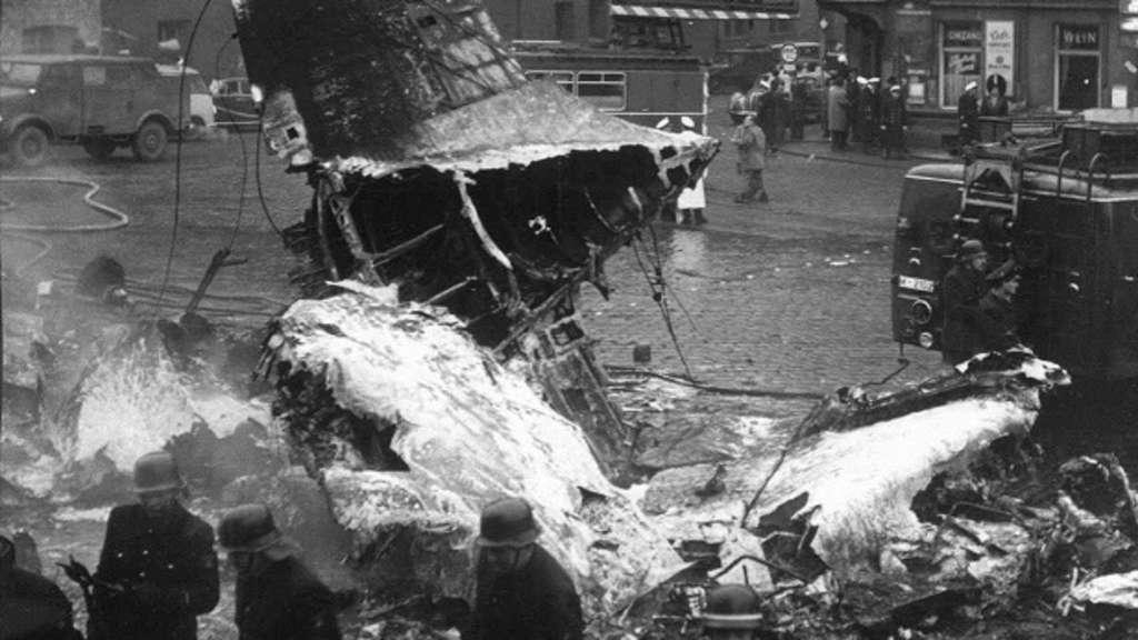 Flugzeugabsturz München