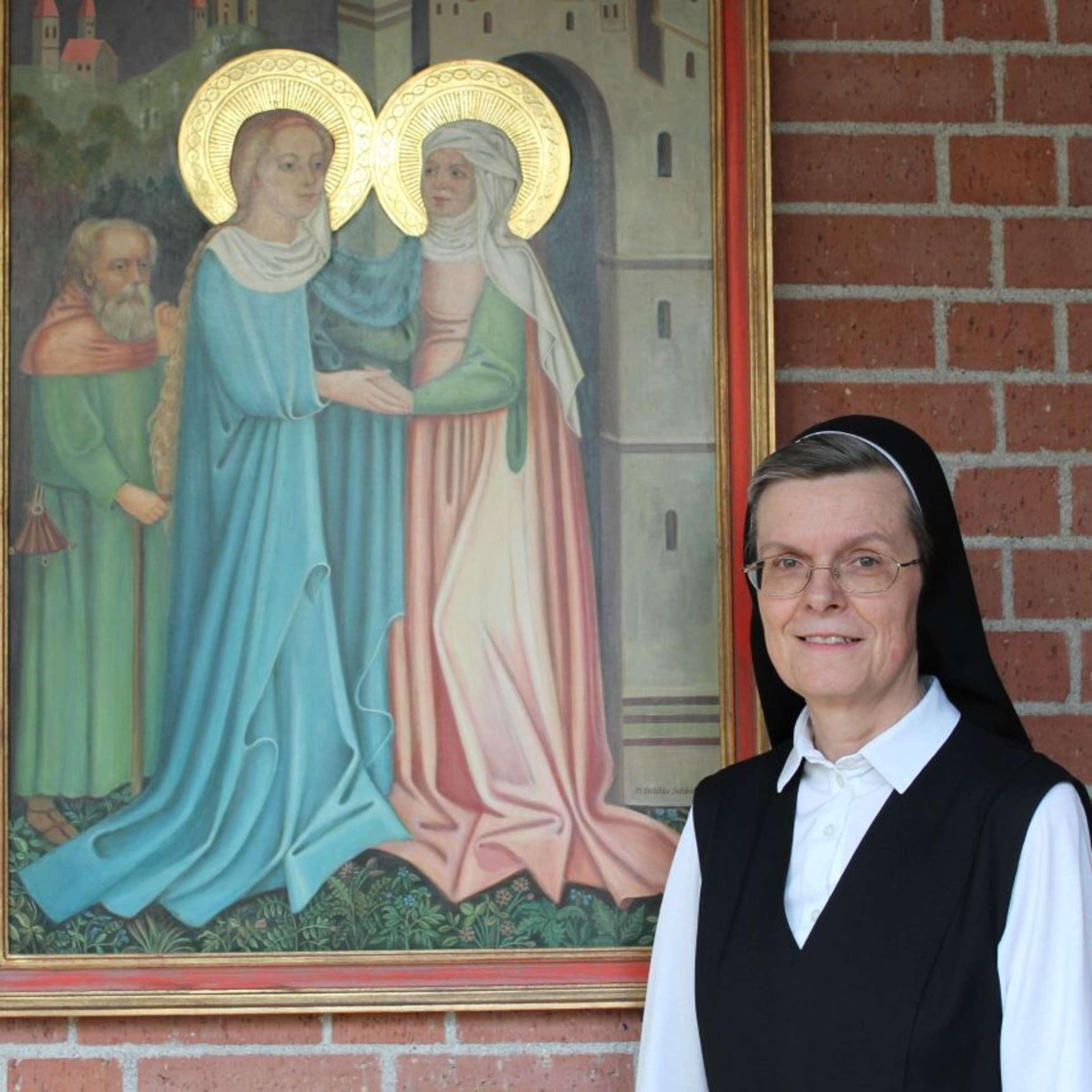 Schwester Charlotte vom Maria-Theresia-Heim Neubiberg über das