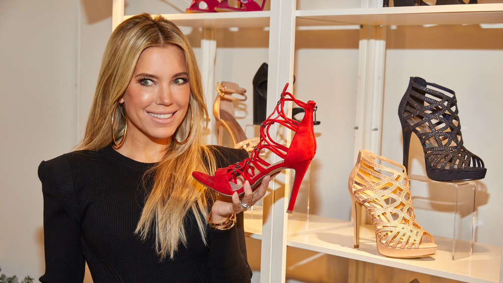 """Sylvie Meis for Deichmann"""