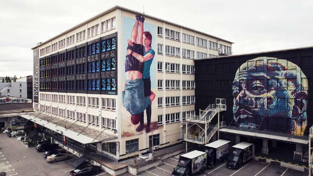 Laimer Noch Möbelhaus Kunstinstallation Auf Zeit Südwest