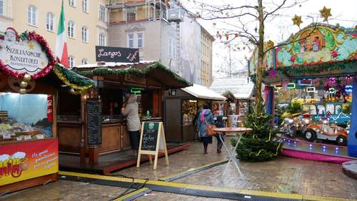 Christkindlmarkt-Chaos: War's das am Harras?