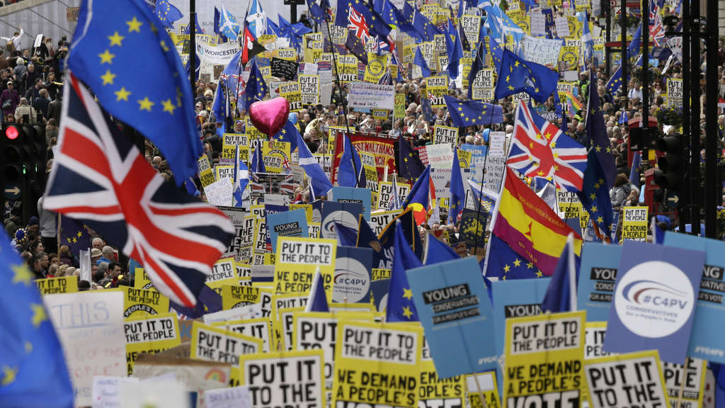 "Brexit - ""People's Vote March"""