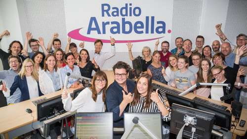Die Hallo Bayern on Air bei Radio Arabella