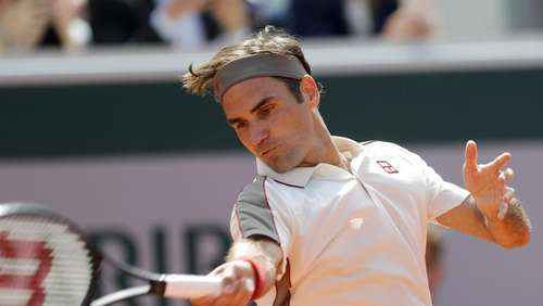 Federer nach 400. Grand-Slam-Match im Achtelfinale in Paris