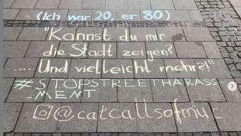 Münchenaltstadt Catcalling Verbale übergriffe Auf Der