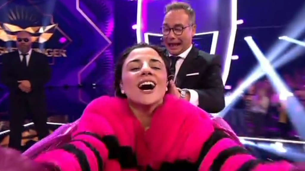 The Masked Singer: Susi Kentikian ist das Monster.