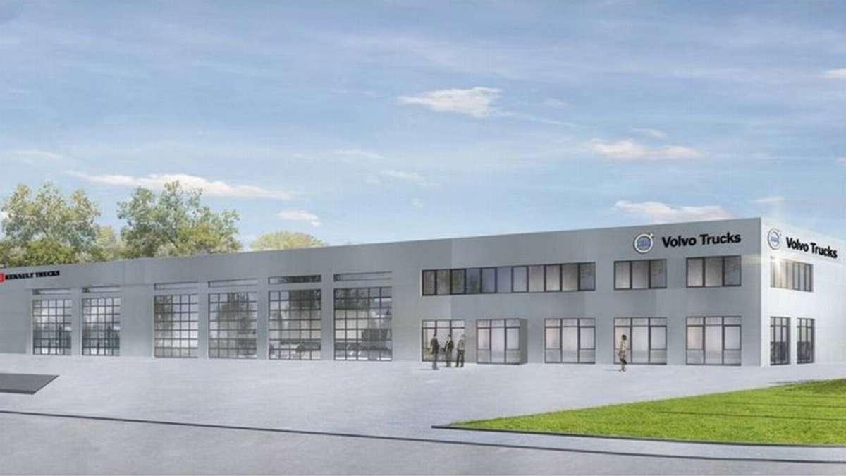 Aschheim: Volvo Trucks zieht von Ismaning nach Aschheim | München Nordost - hallo-muenchen.de