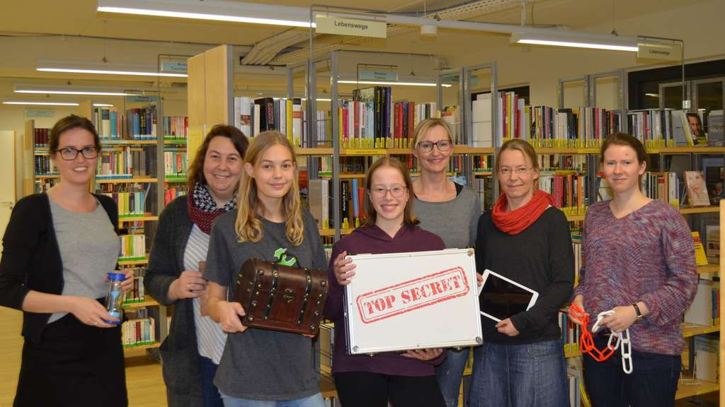 Neubiberg: Live Escape-Room in Bibliothek