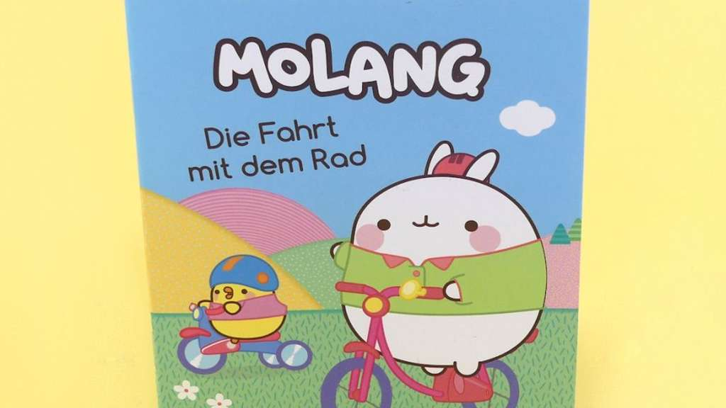 Molang Nelson Mini-Buch.