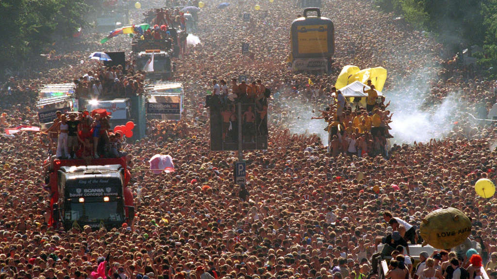 Loveparade 1999 in Berlin