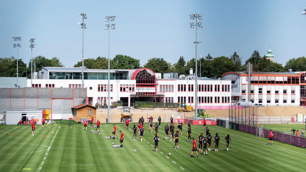 Fc Bayern München Training Säbener Straße