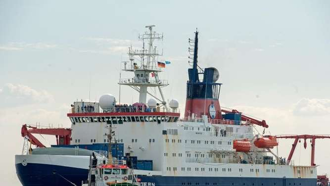 """Polarstern"" nach Mammut-Expedition zurück in Bremerhaven"