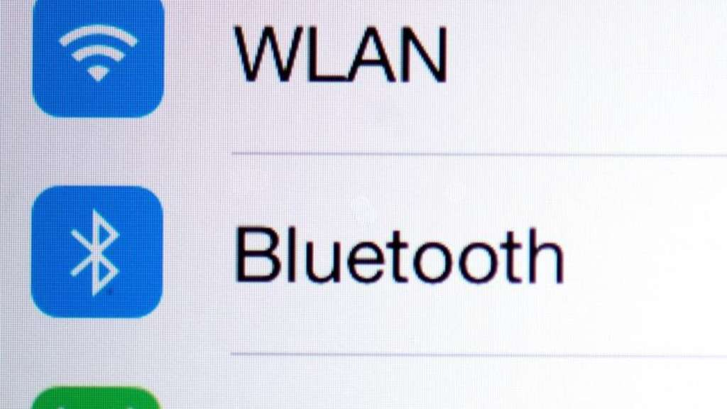 Bluetooth-Einstellungen beim iPhone