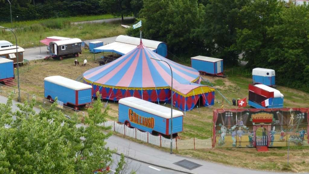 Der Circus Galliano in Forstenried.